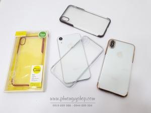 Ốp cứng viền xi Baseus GLITTER iPhone Xs Max